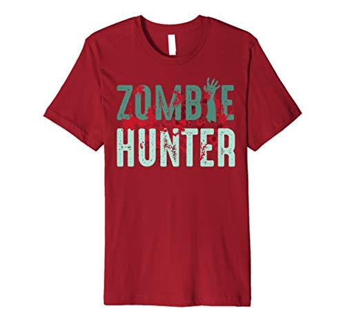 Zombie Hunter Halloween Shirt Cute Deadly Deer Hunting Gift