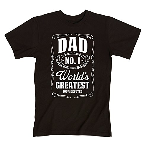 Men's T-Shirt 'World's Greatest Dad', KidTeez