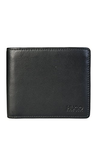 HUGO BOSS Mens Bifold Wallet SUBWAY Size ONE SIZE Black