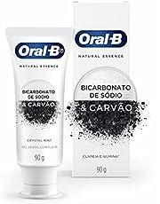 Creme Dental Oral-B Natural Essence Bicarbonato de Sódio e Carvão - 102g