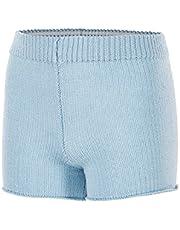 FR DUVAL Autumn Winter Kids Girls Warm Up Short Ballet Dancewear Knitted Pants 81AG0006