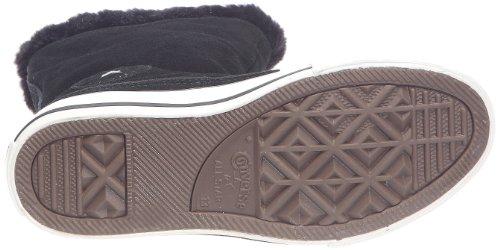 Converse - Zapatillas de cuero para niños Negro (Schwarz (Noir))