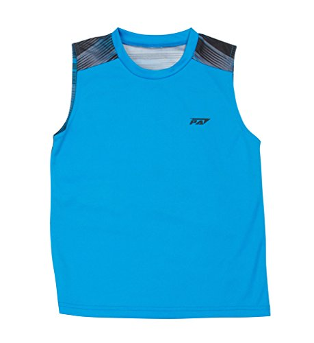 Price comparison product image Pro Athlete Boys Sleeveless T-Shirt – Sports Athletic Muscle Tee & Tank Top