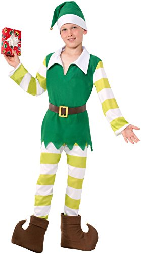 Forum Novelties Jingles the Elf Costume, Small