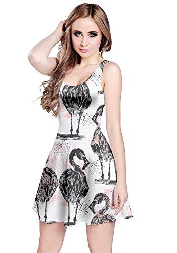 CowCow - Vestido - para mujer gris