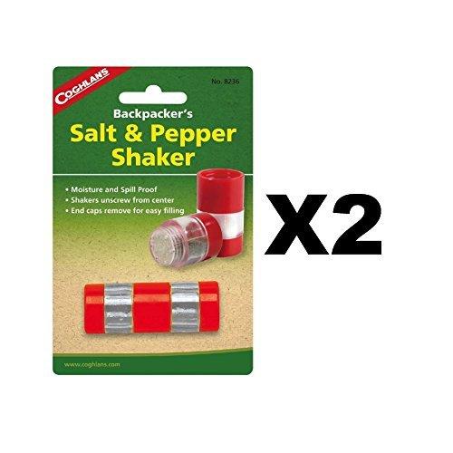 Coghlans Salt & Pepper Shaker (Travel Salt And Pepper Set)