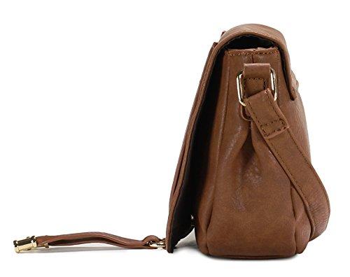 Horseshoe Brown Scarleton Style Bag Crossbody H1958 OdFnFqxzfw