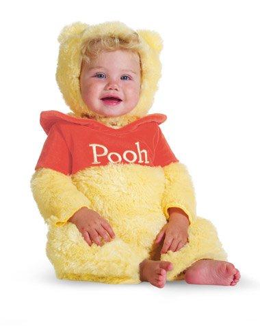 Winnie The Pooh Prestige Infant Costume - Baby (Baby Pooh Costume)