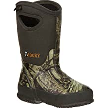 Rocky Boys' Core Rubber Waterproof Insulated Pull-On Boot - Rkys064