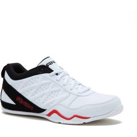AND1 Herren Entwurf Athletic Low Basketball Schuh Weiß schwarz