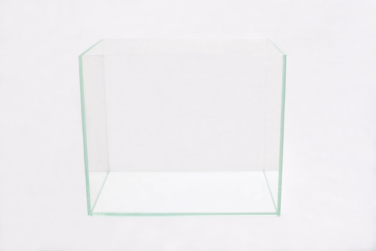 Set FireAqua 37 Liter Rechteck Aquarium Weißglas schwarz