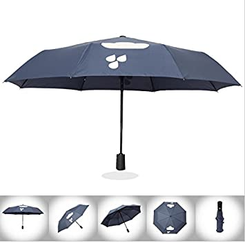 Sombrilla Parasol Portátil Con Protección Solar Para Paraguas,Blue