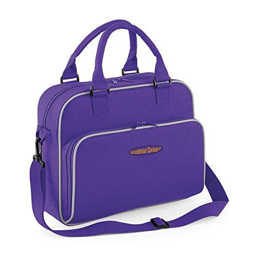 Freizeittasche für Mädchen Reisetasche Kinder Reise Tasche Tasche Kinderbade Tasche Kinderbadetasche Badetasche Kinder Sporttasche mit Goodman Logo