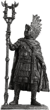 Carausius Britain Tin Toy Soldiers Metal Sculpture Miniature Figure Collection 54mm (scale 1/32) (A233)