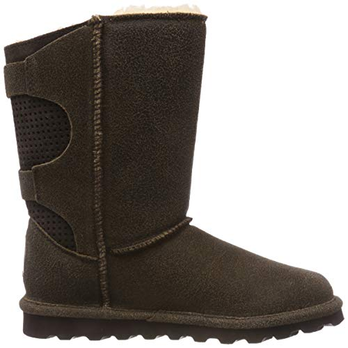 Brown Bearpaw 221 Chestnut Women's Clara Boots Slouch Distressed P8wxAIq8H