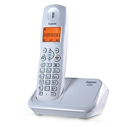 7fe40fc743b Gigaset A450 Cordless Landline Phone  Amazon.in  Electronics