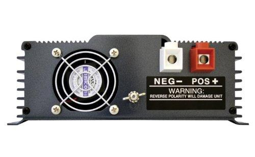Samlex PST-60S-12E PTS Series Pure Sine Wave DC-AC Power Inverter, 12 Volts, 600W Continuous Power Output, 1000W Surge Power Output, 230VAC Output Voltage, Low battery voltage alarm ()