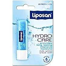 Liposan Hydro Care with Aloe Vera - SPF15 - Lip Care Balm - 4.8gr/5.5ml Pack of 3