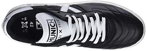 Negro Zapatillas Munich Blanco Negro Unisex Orion 01 Adulto CUxwqT4