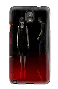 Snap-on Case Designed For Galaxy Note 3- Blood