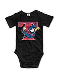 Show Time Toronto Blue Jay Short Sleeve Jumpsuit Outfits Black