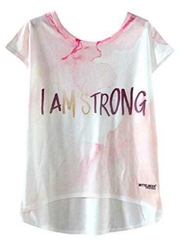 Futurino - Camisas - para mujer White and Rose