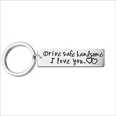 Amazon com: Drive Safe, Boyfriend Gift, Aluminum, Couples