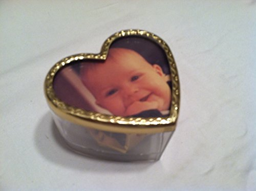 Paperweight Shape Acrylic (Reuge Music Heart Shape Musical Picture Frame Paperweight)