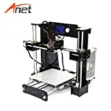 Anet A6 High Precision Big Size Desktop 3D Printer Kits Reprap Prusa i3 DIY Self Assembly LCD Screen