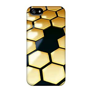 New Arrival Premium 5/5s Case Cover For Iphone (gold)