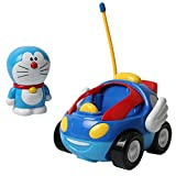 OlgaToys® Kids Children Christmas Cartoon Entertainment Electronic Remoted Control Doraemon Gift Car Blue