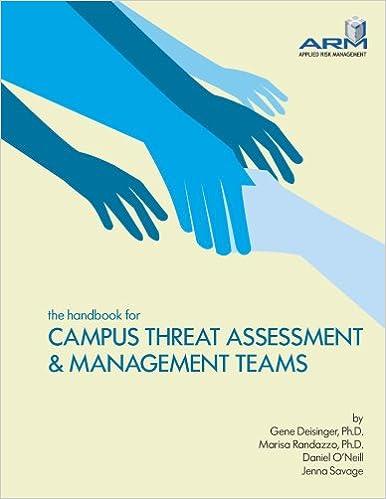 Meilleurs livres de vente téléchargement gratuit pdf The Handbook for Campus Threat Assessment & Management Teams PDF DJVU FB2 0615234933