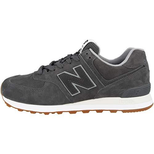 New Balance 574v2, Sneaker Uomo Grigio/Nero