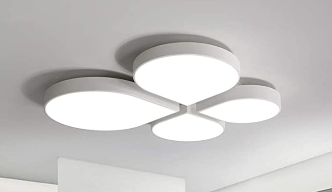 Plafoniere Da Camera : Lampadari nordic metal clover dimmable led plafoniere camera da