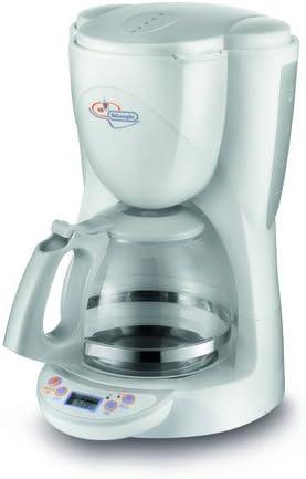 DeLonghi ICM 4.1 - Cafetera de filtro, 10 tazas, color blanco, 1000 W: Amazon.es: Hogar