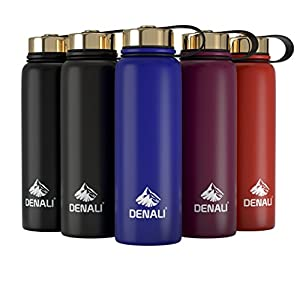 Stainless Steel Vacuum Insulated Water Bottle, 26/36oz, BPA Free, Double Walled Metal Drinking Bottle – 24 Hour Cold, 12 Hour Cold Guarantee