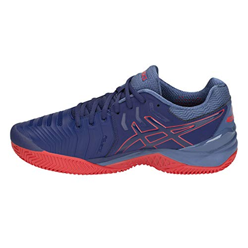 Print Homme De Chaussures Print Bleu blue Gel blue Tennis 400 Asics Clay 7 resolution 6qAc710
