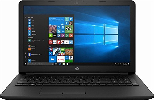 2018 Premium Newest HP 15.6 Inch Flagship Notebook Laptop Computer (AMD Dual-Core A6-9220 APU 2.5GHz, 4GB DDR4 RAM, 128GB SSD, USB 3.1, WiFi, Bluetooth, HD Webcam, Super DVD Burner, Windows 10) Black