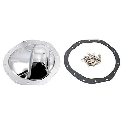 Assault Racing Products A9292KIT GM Truck 14 Bolt 9.5in Ring Gear Chrome Steel Rear Differential Cover Kit