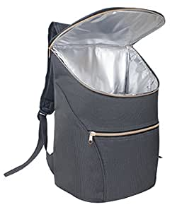 Insulated Backpack - Stylish Cooler Bag for Sports Events, Work, Picnics, Festivals & Travel