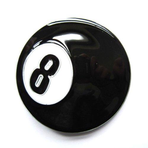 8 Ball Belt Buckle - 9