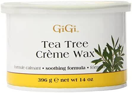 GiGi Tea Tree Creme Wax, 14 Ounce