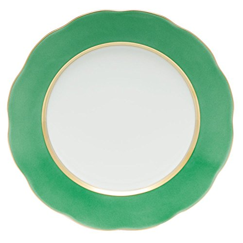 Herend China Service Plate Mint Green