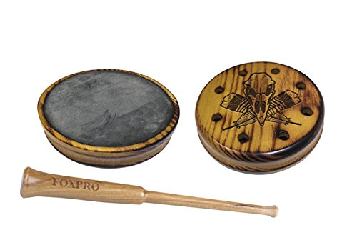 FOXPRO Osage Slate Hickory Osage Slate Pot Turkey Call with