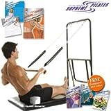 Ellen Croft's Supreme Pilates Machine + 5 DVD Workout Set.