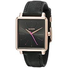 Nixon Women's The K Squared Rose Gold/Gray Watch
