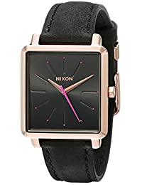 Nixon Women's The K Squared Rose Gold/Gray Watch