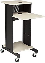 "Oklahoma Sound PRC200 Steel Premium Presentation Cart, 18"" Width x 40-1/2"" Height x 30"" Depth,"