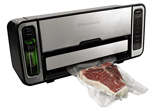 FoodSaver Premium 2-In-1 Automatic Bag-Making Vacuum Sealing System, Silver FSFSSL5860-DTC