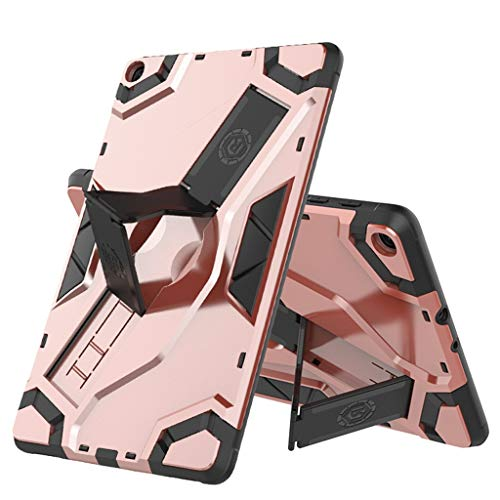 IslandseCase for Samsung Tab A SM-T515/T510 10.1 Tablet Slim Shell Cover Kickstand 2019 (Rose Gold)